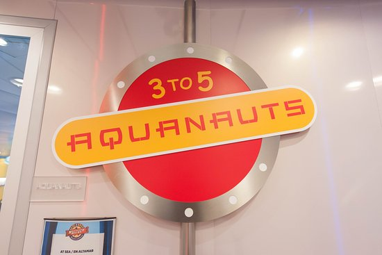 Aquanauts on Allure of the Seas