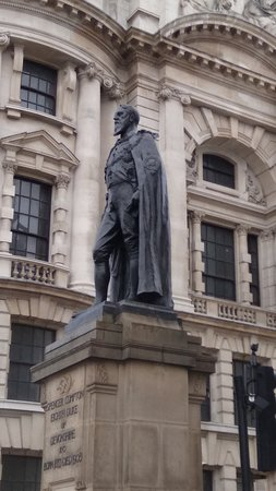 Spencer Compton, 8th Duke of Devonshire Statue