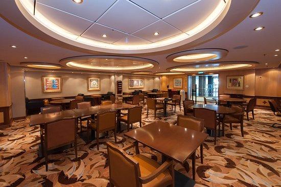 Card Room on Allure of the Seas