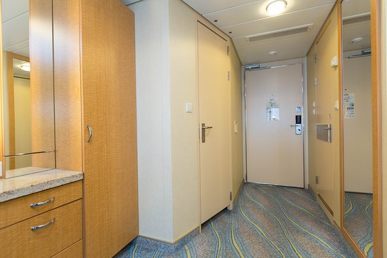The Junior Suite with Balcony on Allure of the Seas