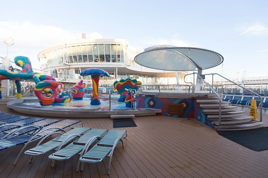 The H2O Zone on Allure of the Seas