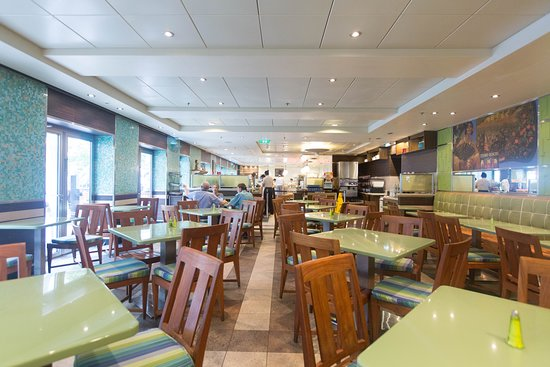 Park Cafe on Allure of the Seas