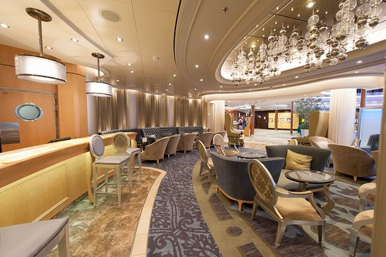 Champagne Bar on Allure of the Seas