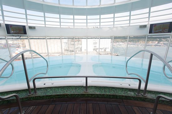 The Whirlpools on Allure of the Seas