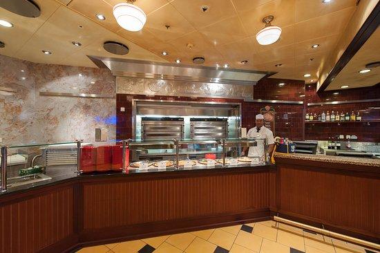 Allure of the Seas: Sorrento's Pizzeria on Allure of the Seas