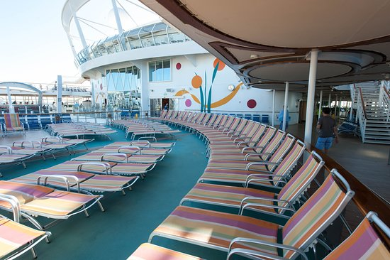 The Beach Pool on Allure of the Seas