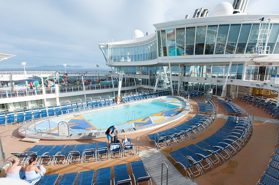 Allure of the Seas: The Sports Pool on Allure of the Seas