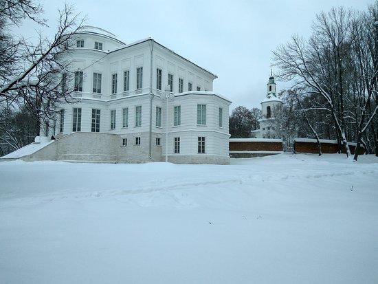Bogoroditsk, Russia: Усадьба Бобринских. Январь 2019.