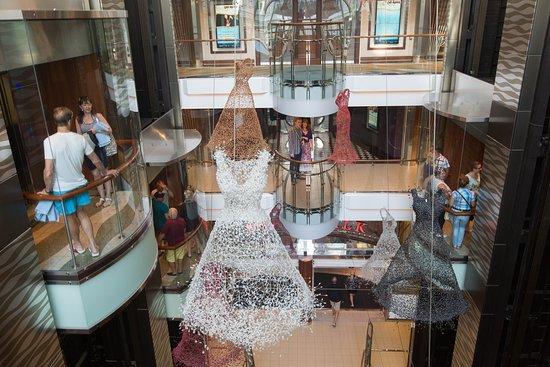 Elevators on Allure of the Seas