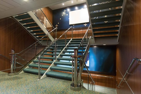 Stairs on Allure of the Seas