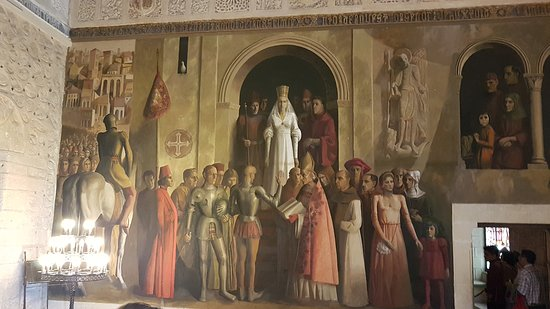 Alcázar of Segovia: TAPIZ DE LOS REYES CATOLICOS