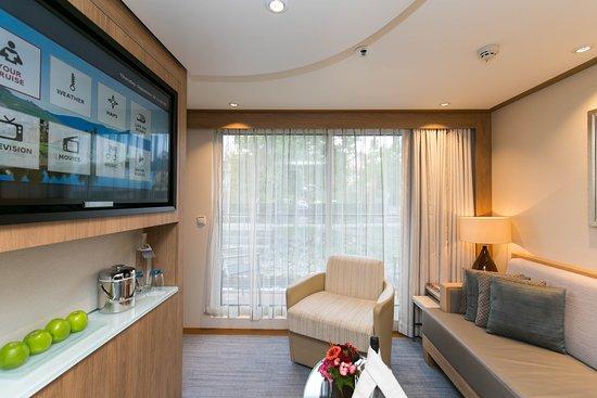 The Veranda Suite on Viking Gullveig