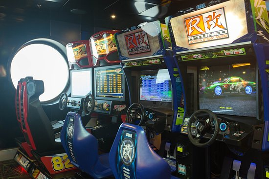 Video Arcade on Allure of the Seas