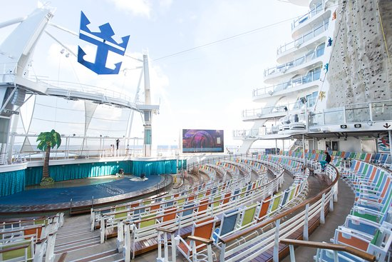 AquaTheater on Allure of the Seas