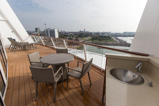 The Royal Loft Suite on Anthem of the Seas