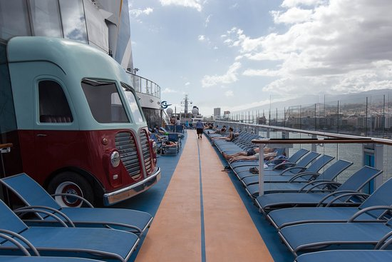 Jogging Track on Anthem of the Seas
