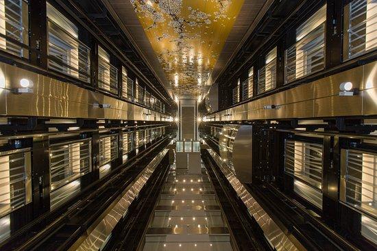 Elevators on Anthem of the Seas