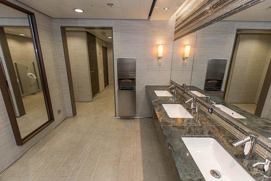 Public Restroom on Anthem of the Seas