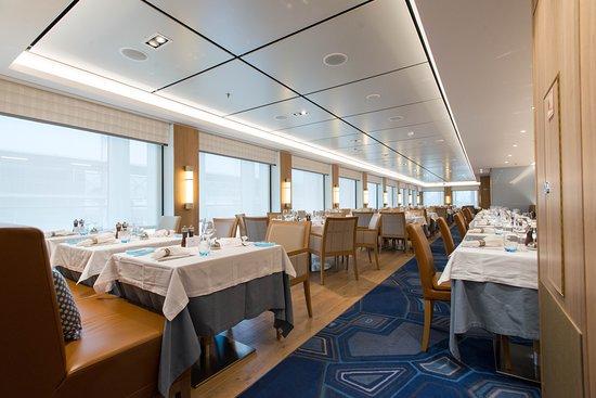 The Restaurant on Viking Sky