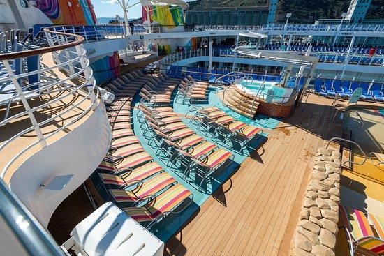 Sun Deck on Symphony of the Seas