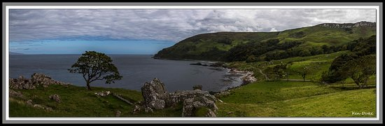 Antrim, UK: Murlough Bay another location from Game of Thrones. On a sunny day the view and colours in the sea are amazing