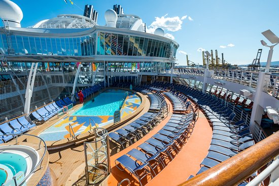 Sports Pool on Symphony of the Seas