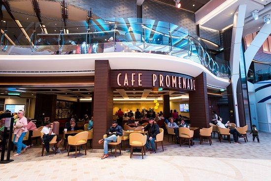 Cafe Promenade on Symphony of the Seas