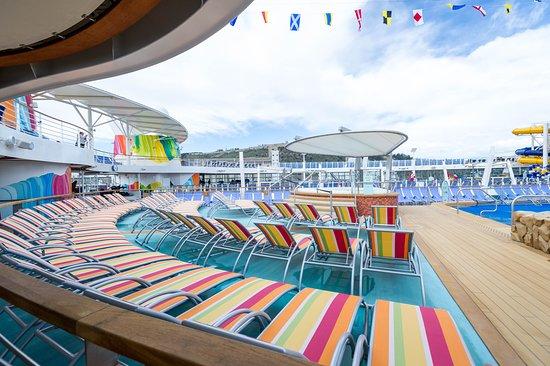 Beach Pool on Symphony of the Seas