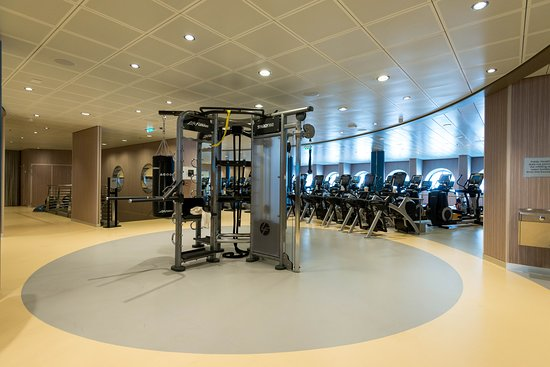 Fitness Center on Symphony of the Seas