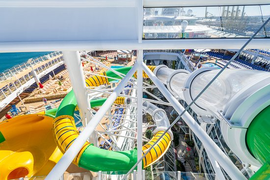 The Perfect Storm Water Slides on Symphony of the Seas