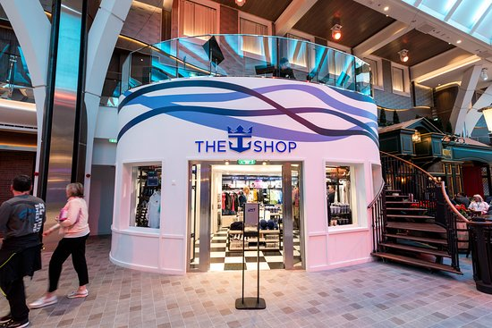 Shops on Symphony of the Seas