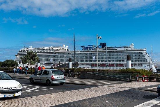 Ship Exterior on Norwegian Bliss