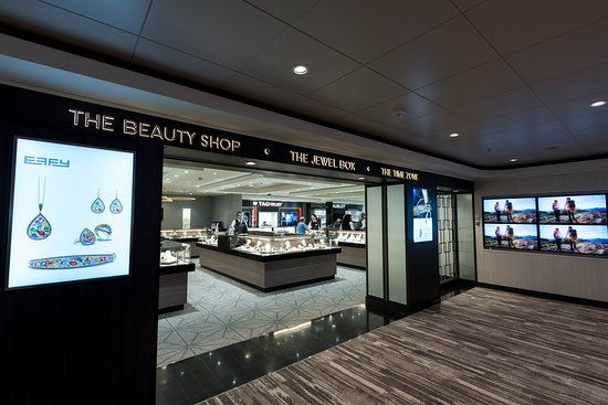 Shops on Norwegian Bliss