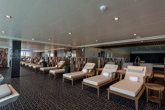 Spa Relaxation Room on Norwegian Bliss