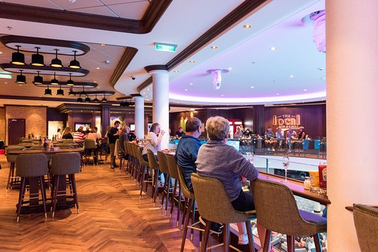 The Local Bar & Grill on Norwegian Bliss