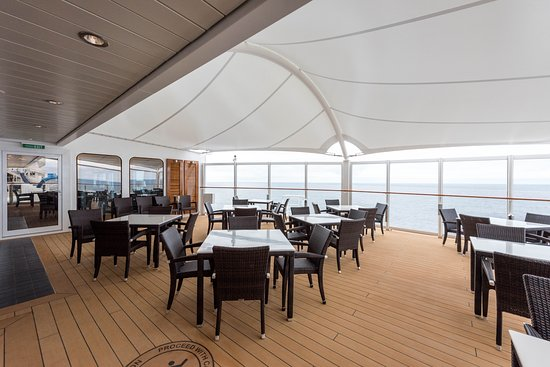 Haven Restaurant on Norwegian Bliss