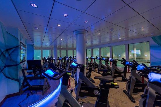 Cycle Room on Norwegian Bliss