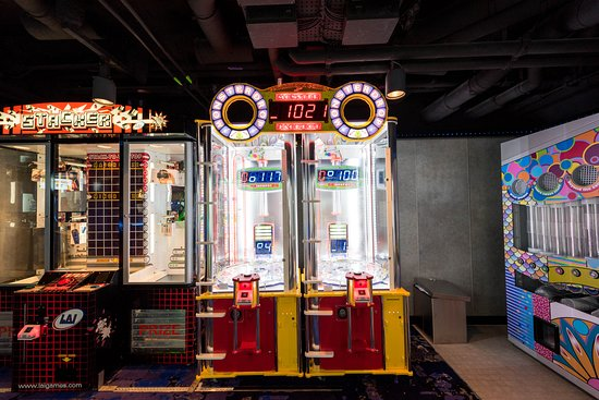 Video Arcade on Norwegian Bliss