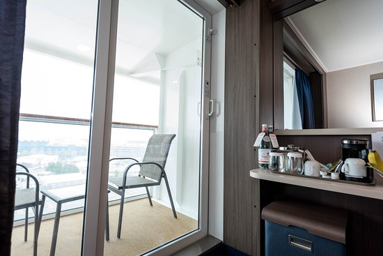 The Balcony Cabin on Norwegian Bliss