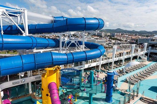 Kids' Aqua Park on Norwegian Bliss