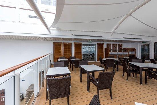 Haven Restaurant on Norwegian Bliss