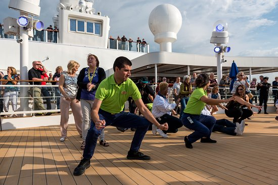 Sail-Away Party on Norwegian Bliss