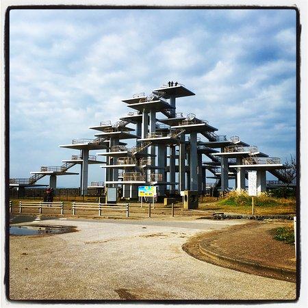 Futtsu, Japan: 明治百年記念展望塔