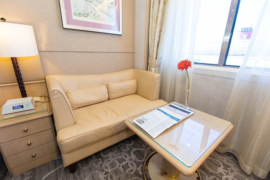 The Deluxe Cabin with Large Picture Window on Crystal Symphony