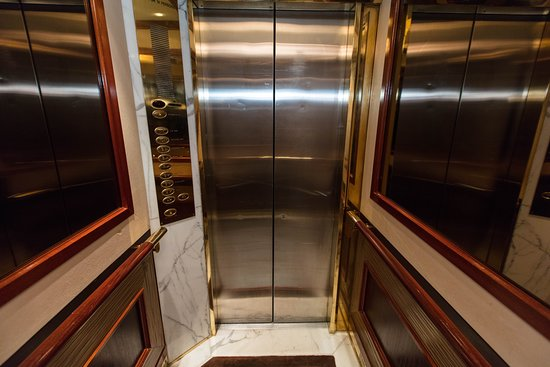 Elevators on Crystal Symphony