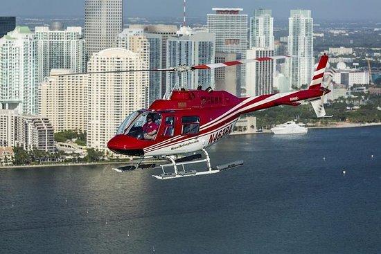 Vol en hélicoptère «Aperçu de Miami»
