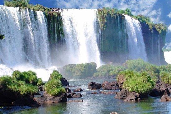Tour des chutes d'Iguassu au départ...