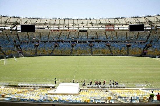 Excursão no Estádio do Maracanã...