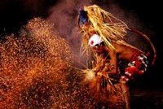 Bali Kecak Dance, Fire Dance og...