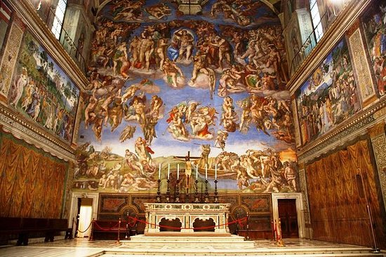 First Entry Tickets to Sistine Chapel...